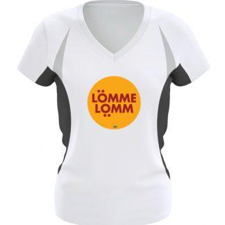 Lömmelömm Laufshirt - Frauen Laufshirt tailliert geschnitten-6757